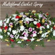 Multi Floral Casket Spray