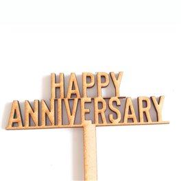 Happy Anniversary Pic (36cm)