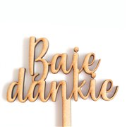 Baie Dankie Pic (36cm)