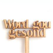 Word Gou Gesond Pic (36cm)