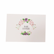 Baie Dankie Card A6