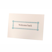 Welcome Back Card A6