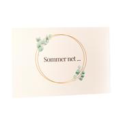Sommer Net Card A6