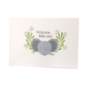 Welcome Little One Card A6