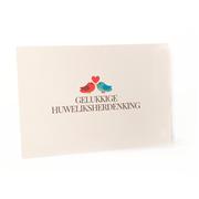 Gelukkige Huweliksherdenking Card A6