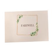 Farewell Card A6