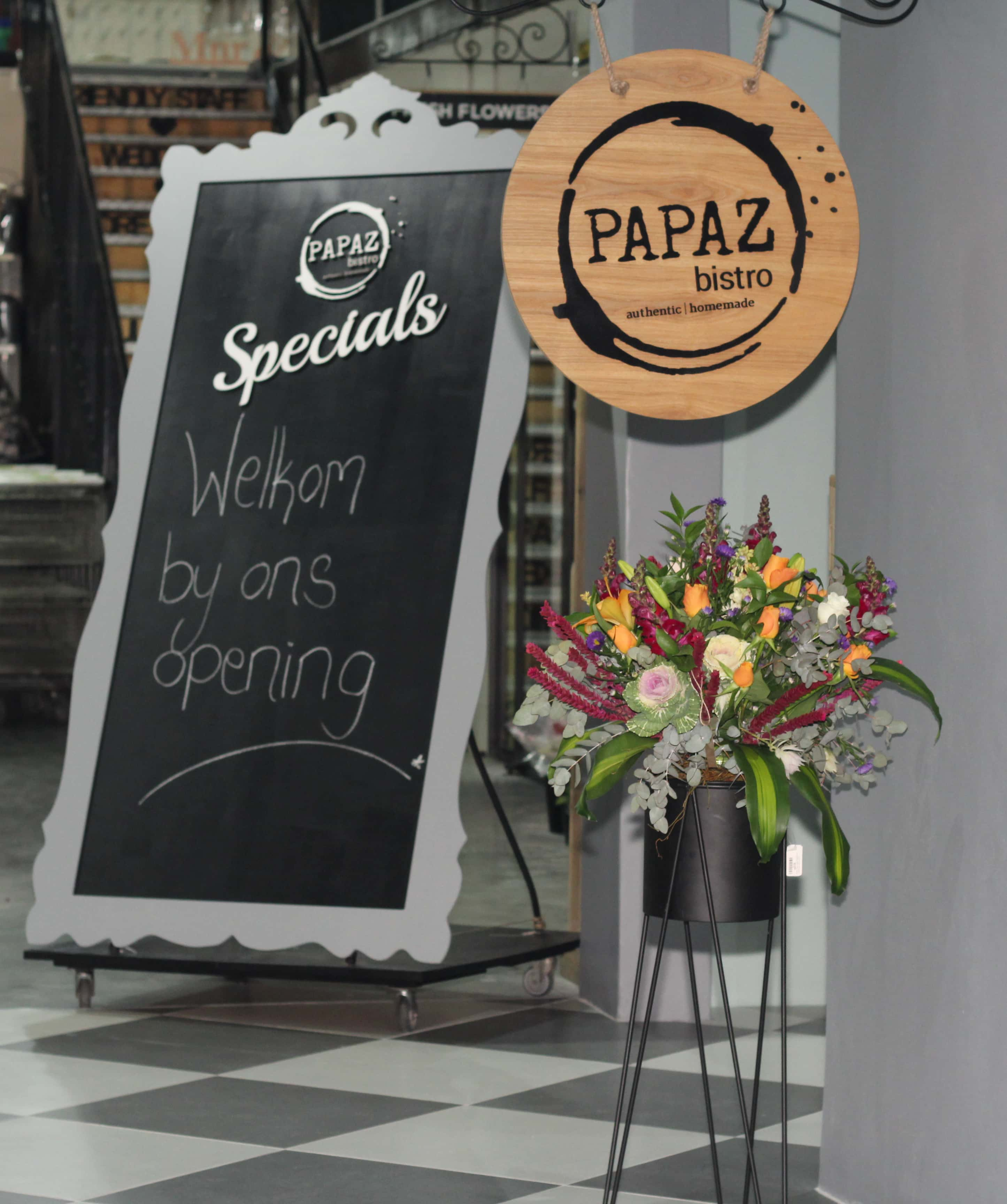 PAPAZ Bistro - Bunches for Africa