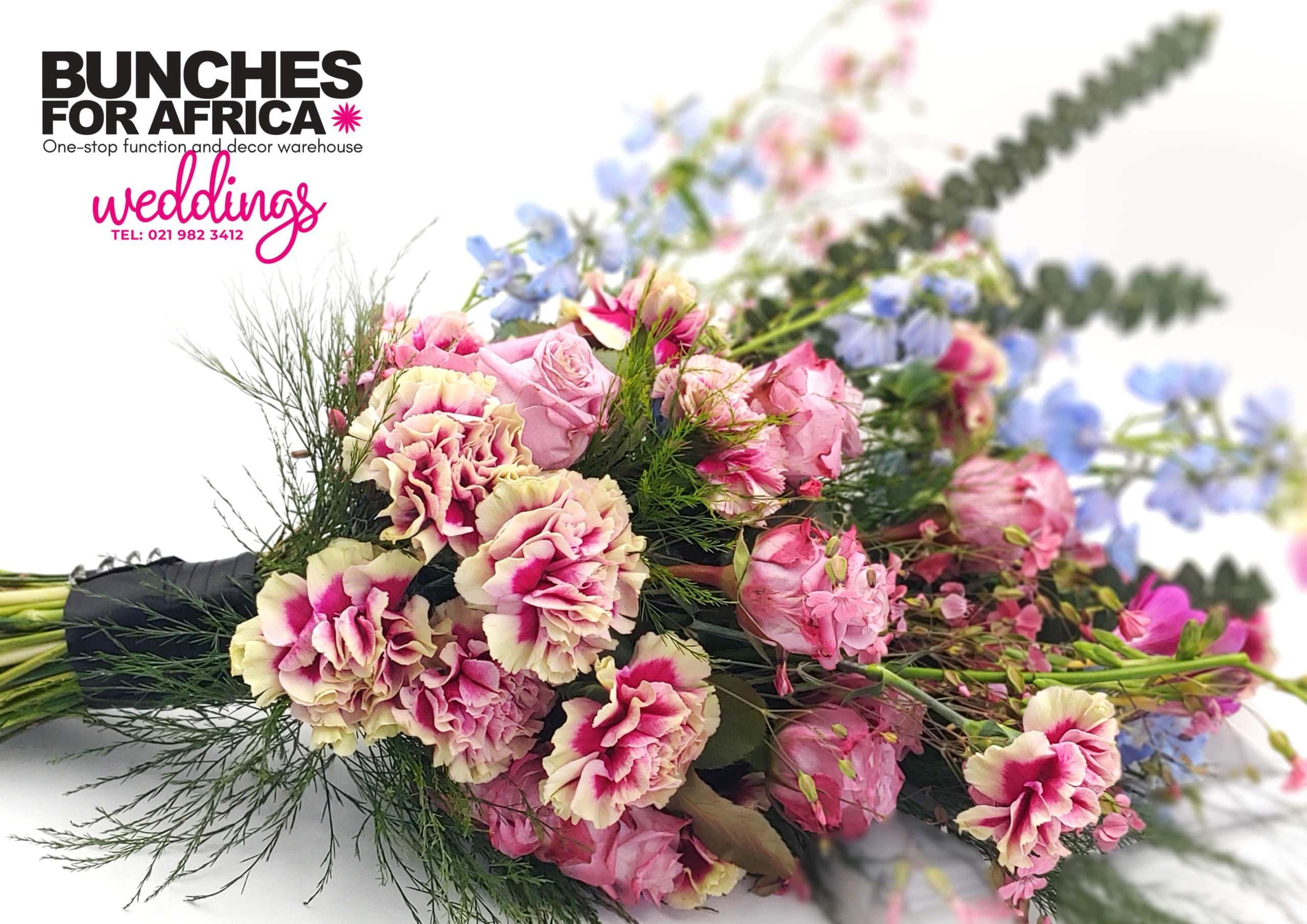 Weddings by Bunches for Africa Western Cape