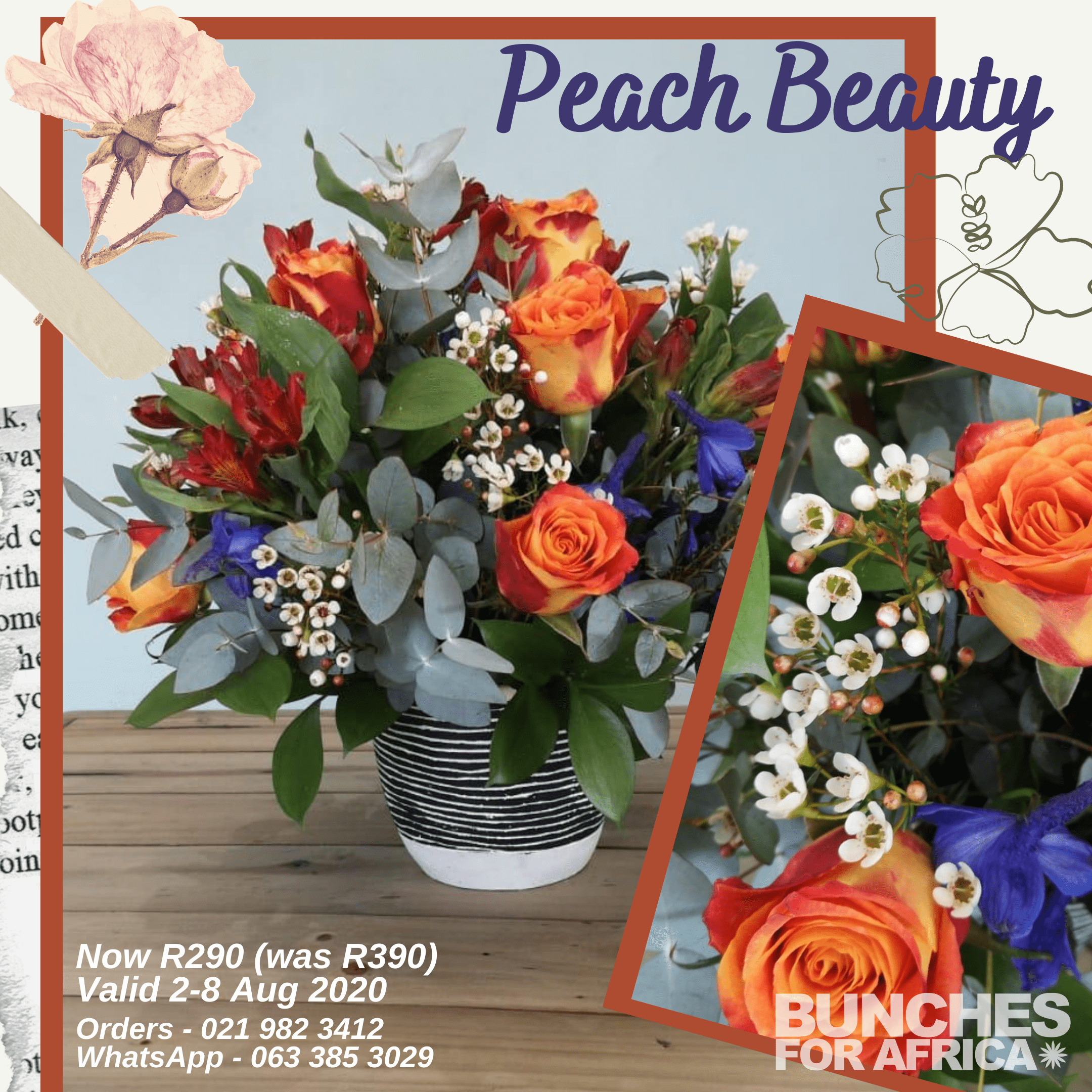 Peach Beauty valid 2-8 Aug