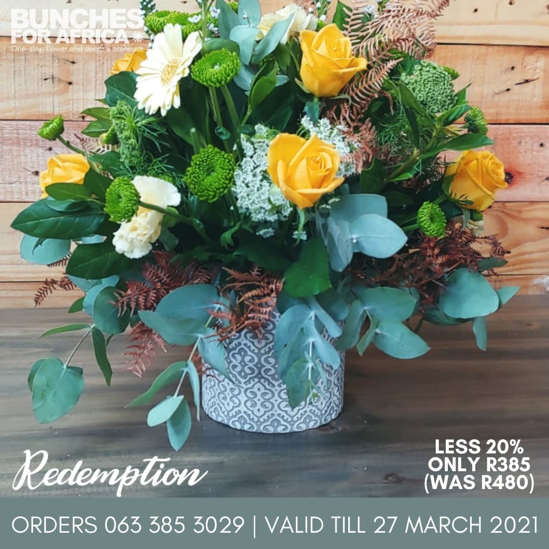 Redemption Bouquet Bunches for Africa