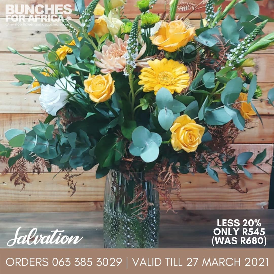 Salvation Bouquet Bunches for Africa